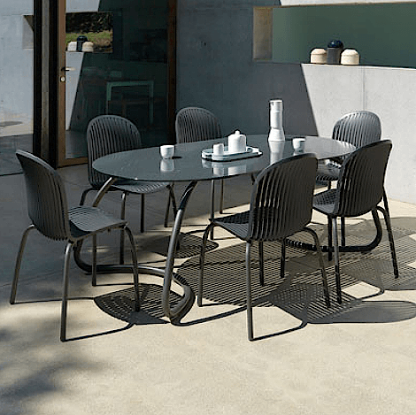 Mesa e cadeiras Ninfea - Móveis Malheiro